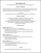 Resume After 1