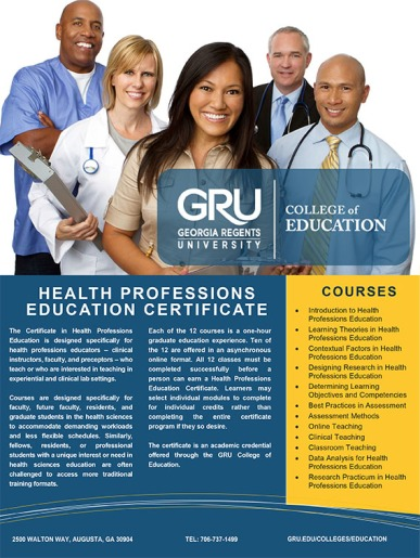 Health Professions Education Certificate-1