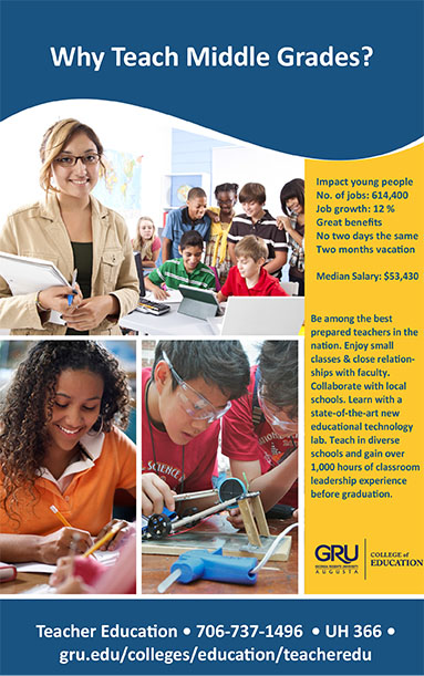 Midde grades education flyer 1